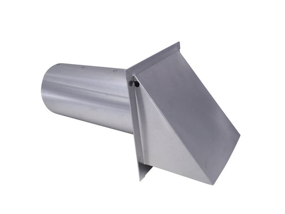 5 Inch Wall Vent (Galvanized)