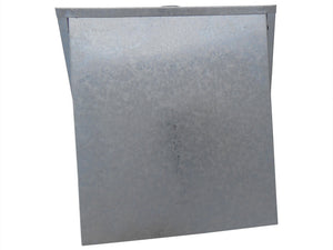 6 Inch Wall Vent (Galvanized)
