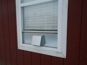 6 Inch Window Vent Exterior Front View
