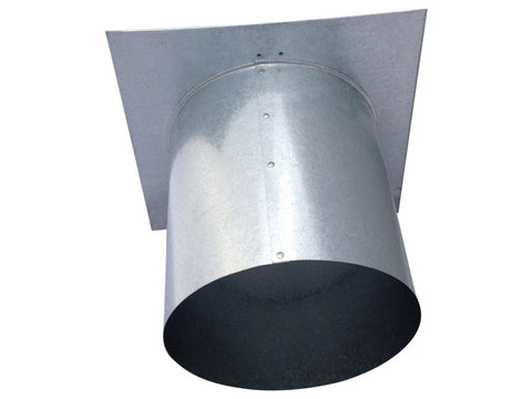 8 Inch Wall Vent (Back View)