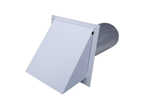 Dryer Wall Vent (White Powder Coated)