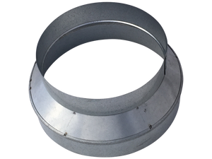 Duct Reducer 9x8 Inch