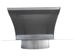 Metal Roof Vent Aluminum Front View