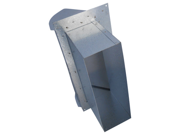 Rectangular Wall Vent Weather Sealed Dryer Vent Vent Works