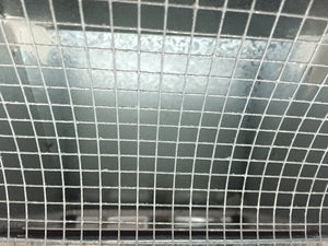 "1/4"" Inch Galvanized Steel Mesh Screen"