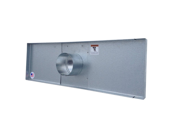 Window Dryer Vent by Vent Works (Back View)