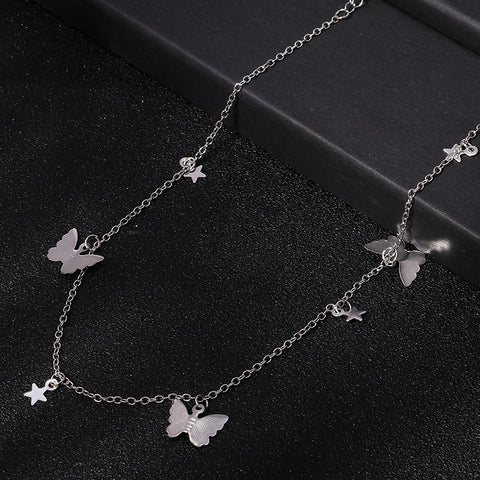 Butterfly-Star Necklace