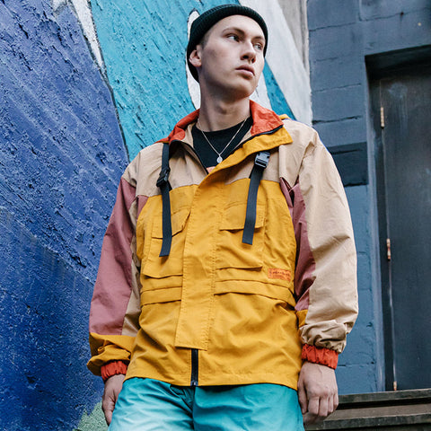 weather tether windbreaker jacket