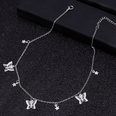 Butterfly Stars Necklace