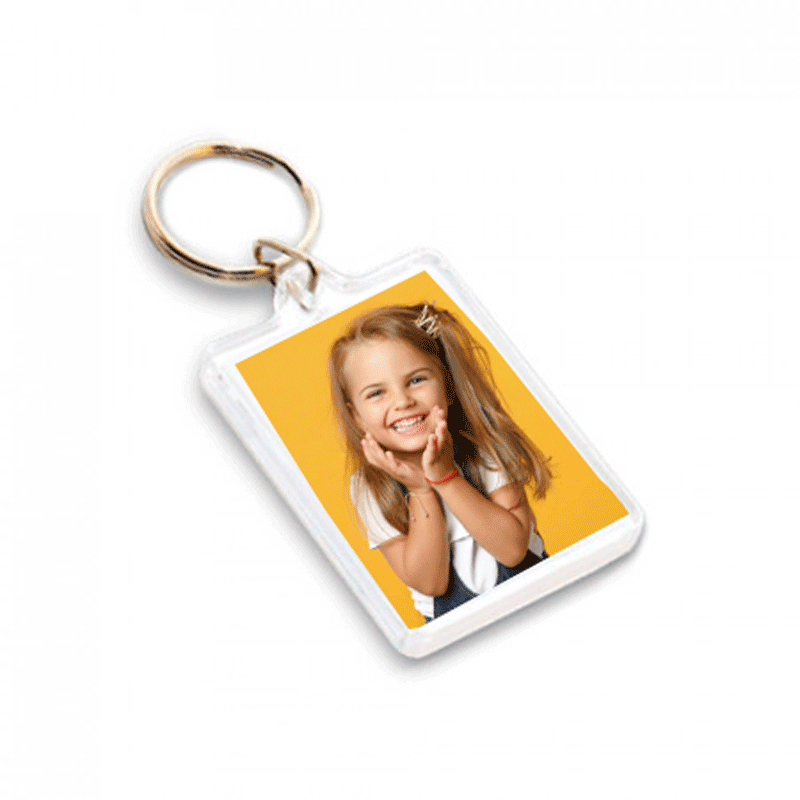 Acrylic Photo Keyring