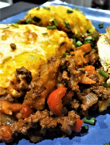 Miss-Matched Cottage Pie recipe from The Cooking Plumber