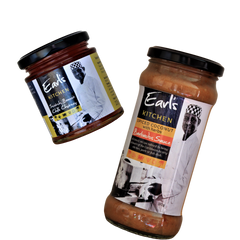 Sauces and chutneys from Earl's Kitchen