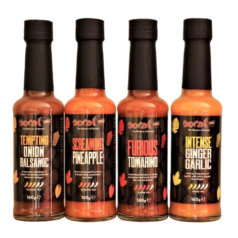 Sorai's sauces stocked by The Cooking Plumber