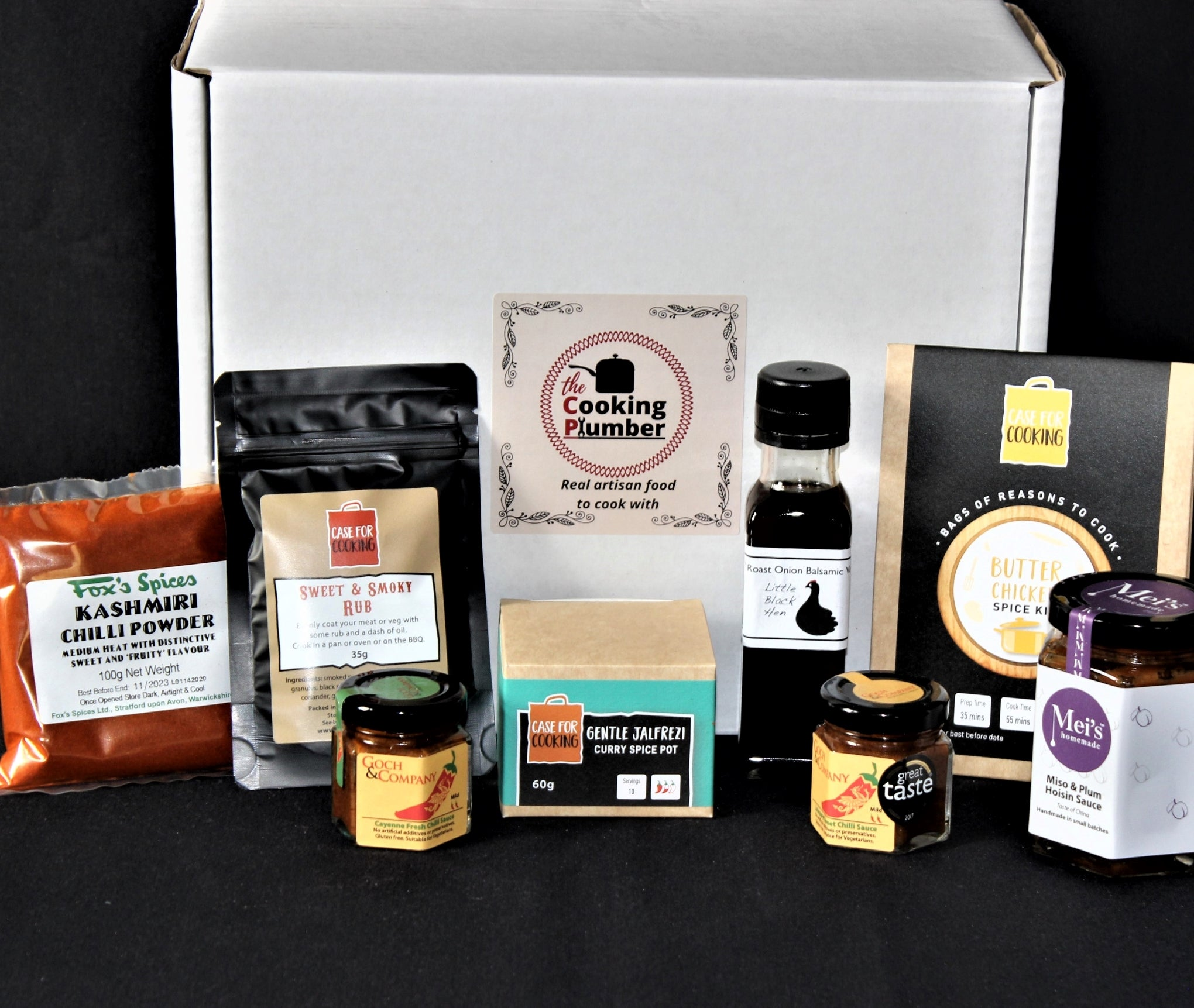 The Cooking Plumber Hamper Gifts Free Postage
