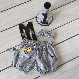 Panda Love Boys Cake Smash Outfit by Bumblebee Boutique