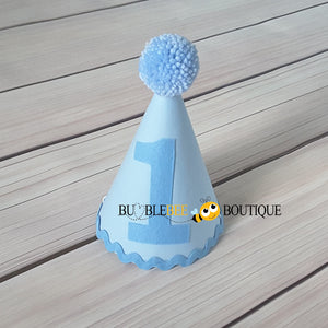 Baby Blue Party Hat