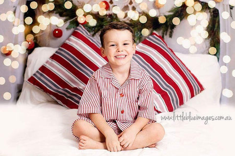 Vintage styled boys' Christmas pyjamas