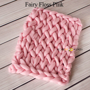 Bumblebee Boutique Bump Blanket Fairy Floss Pink