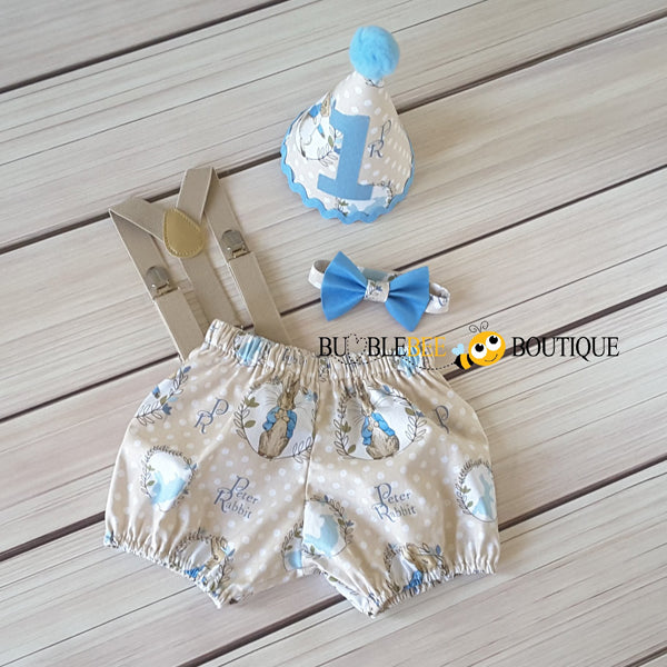 Peter Rabbit Cake Smash Outfit