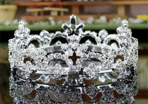 Duchess Crystal Rhinestone Mini Crown