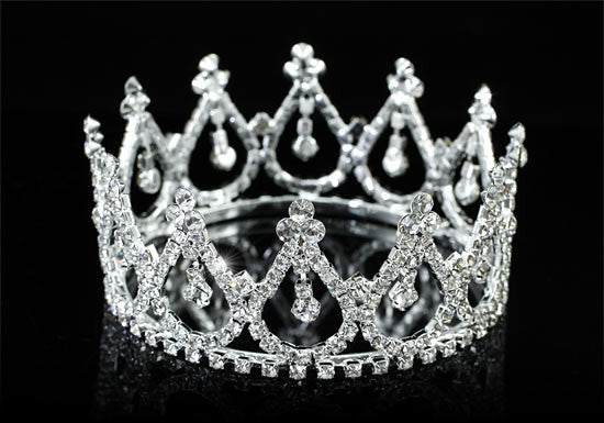 Candace Crystal Mini Crown
