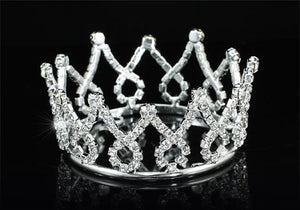 Camelot Crystal Mini Crown