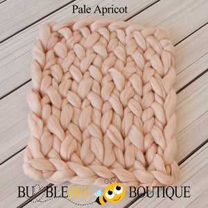 Bumblebee Boutique Bump Blanket Apricot