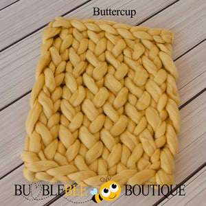 Bumblebee Boutique Bump Blanket Buttercup