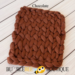 Bumblebee Boutique Bump Blanket Chocolate