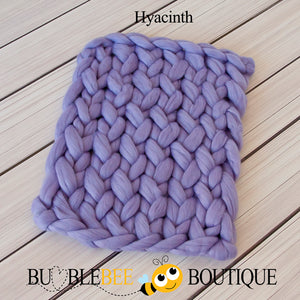 Bumblebee Boutique Bump Blanket Hyacinth