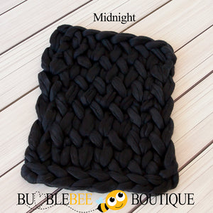 Bumblebee Boutique Bump Blanket Midnight