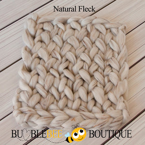 Bumblebee Boutique Bump Blanket Natural Fleck