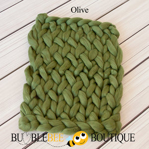 Bumblebee Boutique Bump Blanket Olive
