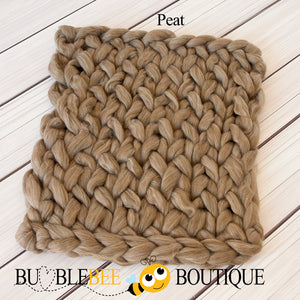 Bumblebee Boutique Bump Blanket Peat