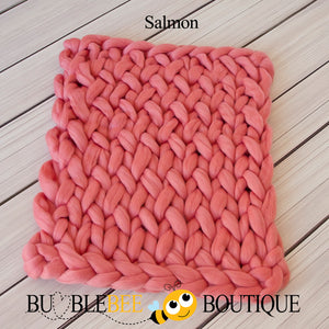 Bumblebee Boutique Bump Blanket Salmon