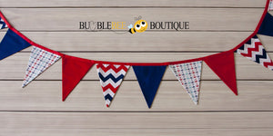 Nautical themed bunting