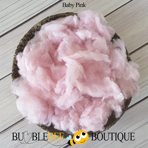 Baby pink hand-dyed fleece