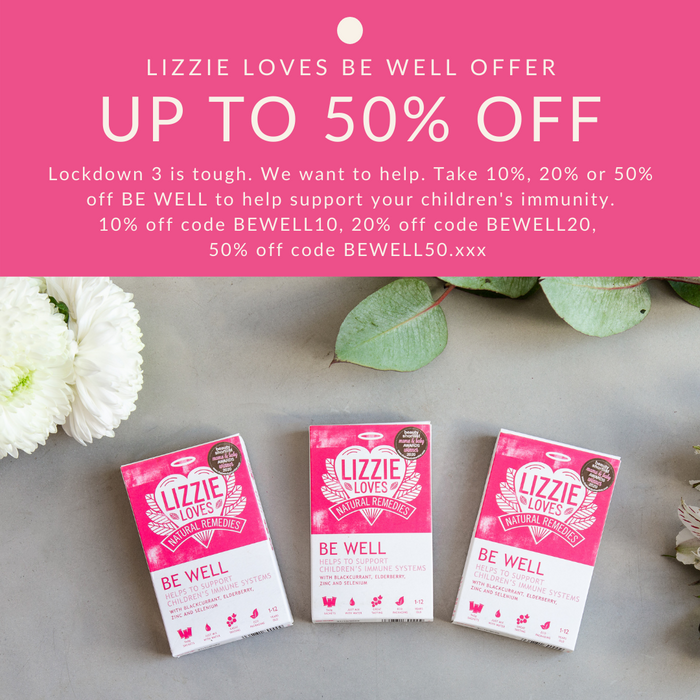 BE WELL up to 50% off