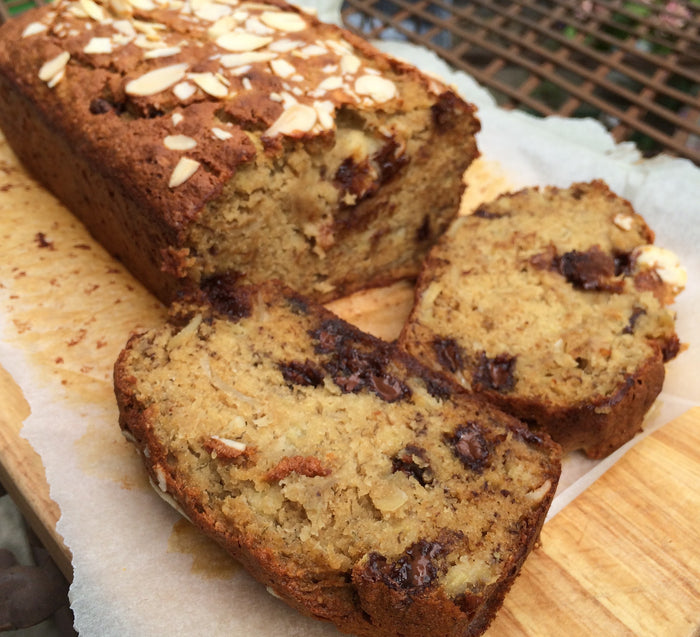 Buckwheat Banana Choc Chip Bread