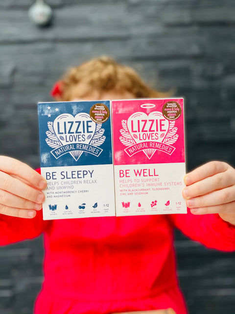 Lizzie Loves Special Offer - Sleep & Immunity Twin Pack £9.99 (worth £15.90)
