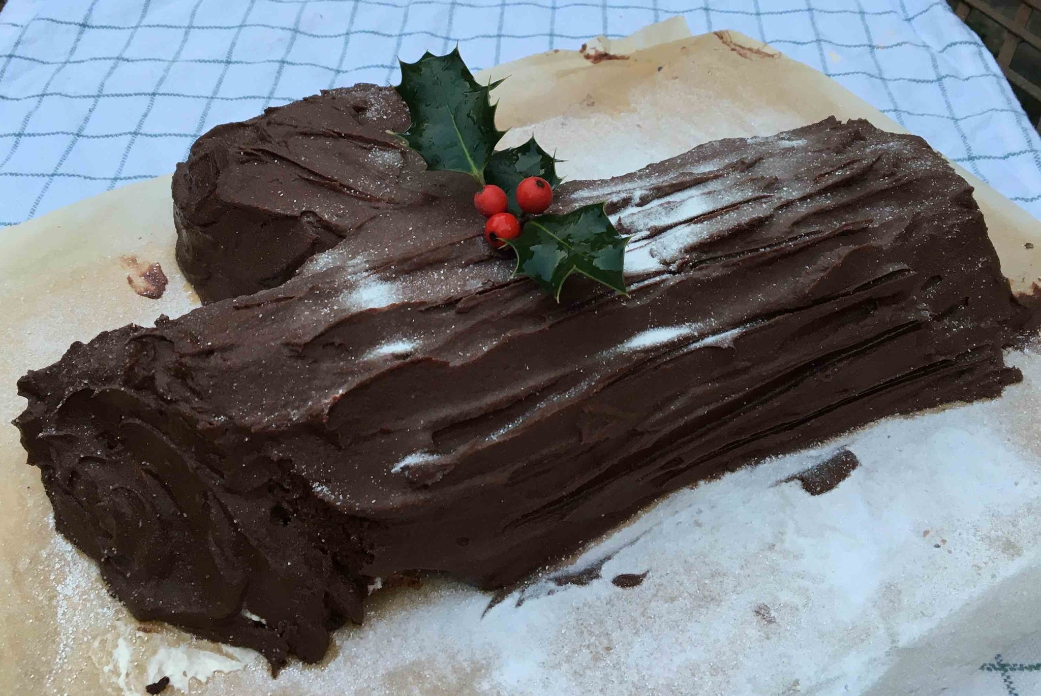 Bûche de Noel - Chocolate Log