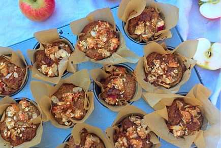 Apple Crumble Crunch Muffins