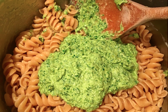 Creamy Tofu Parsley Pesto