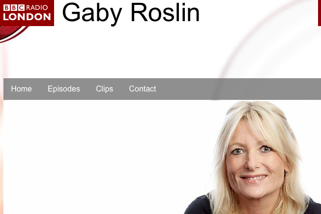 Gaby Roslin Show Time