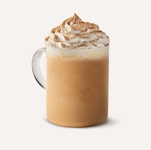 Pumpkin Spiced Chai Cream Latte