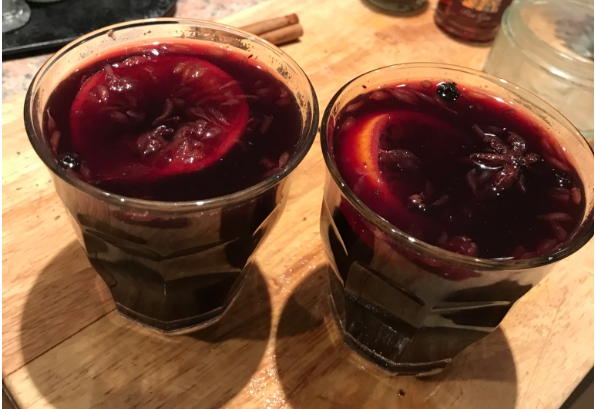 Clementine Honeyed Mulled Wine