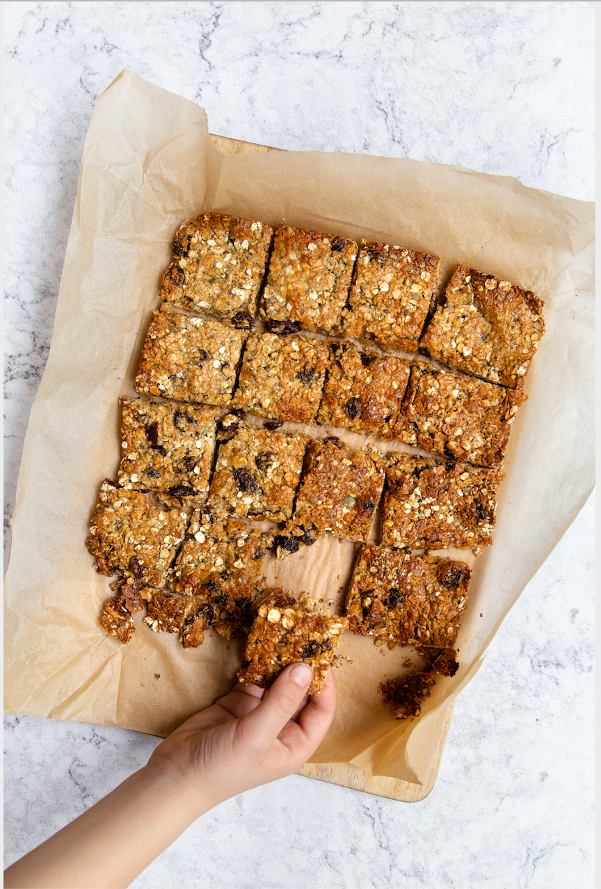Honey & Tahini Flapjacks