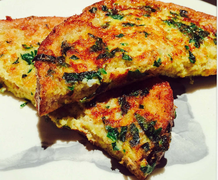 Spinach French Toast