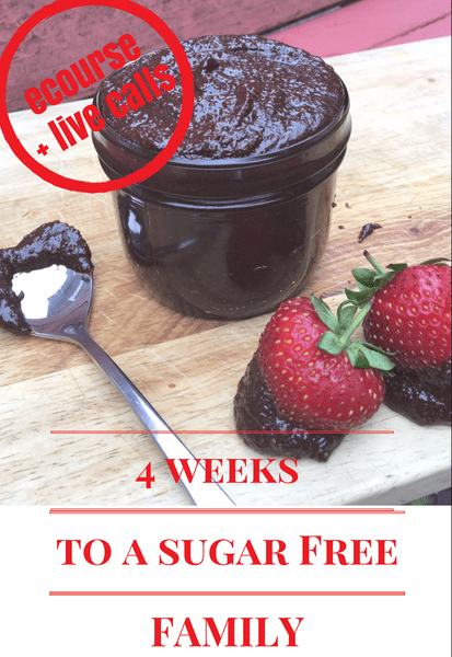 4 weeks to a sugar free family