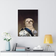 Load image into Gallery viewer, All I Think About is Cookies - Custom Pup Canvas